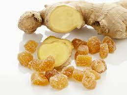 Ginger pieces