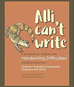 Alli Can't Write - book cover